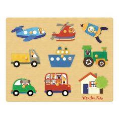 Pour apprendre les moyens de transport et découvrir les formes, voici le puzzle des transports de la collection les Popipop chez Moulin Roty. En vente sur notre site http://www.jeujouet.com/moulin-roty-les-popipop-puzzle-des-transports.html N'hésitez pas à partager l'idée cadeau à vos amis ! #Puzzle #Bois #Transports #LesPopipop #MoulinRoty #Jeujouet