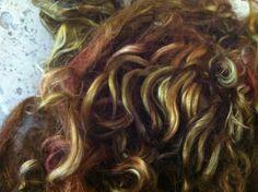 Suri Alpaca Fiber - Browns - doll hair waldorf - felting spinning 1 ounces (71). $5.99, via Etsy.