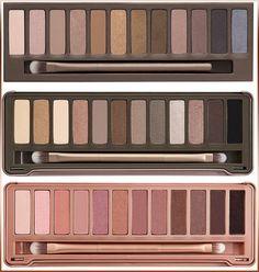 3pcs/lot Makeup set 12 Colors palette NK 1 2 3 eyeshadow palettes with brush