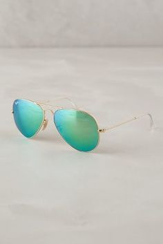 Ray-Ban Aviators Green All Eyewear