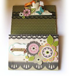 An altered Clip board made using Mod Podge !!