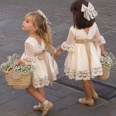 A line Long Sleeve Lace Flower Girl Dresses Above Knee Scoop Bowknot Baby Dress on sale – PromDress.uk A line Long Sleeve Lace Flower Girl Dresses Above Knee Scoop Bowknot Baby Dress on sale – PromDress.uk Source by impimplant girl dress long sleeve Lace Flower Girls, Lace Flowers, Boho Flower Girl, Rustic Flower Girls, Flower Girl Basket, Toddler Flower Girl Dresses, Flower Girl Shoes, Junior Bridesmaid Dresses, Bridesmaid Flowers