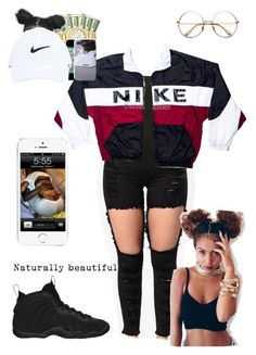 """""""Vintage"""" by kaykay0 on Polyvore featuring M&Co, NIKE and vintage"""