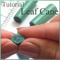 Tutorial Leaf Cane, Polymer Clay by Eugena777, via Flickr