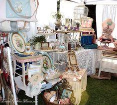 Flea Market Booth Displays   craft booth display idea - shabby chic   flea market...