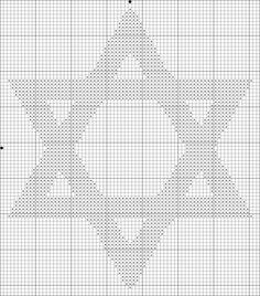 free star cross stitch patterns