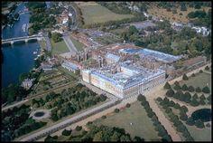 Hampton Court-Hampton Court Palace near London was the home of the humble servant of Jesus, Cardinal Wolsey.