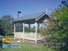 Design your excellent summer #house #gazebo and enjoy the afternoon beauty of your garden.
