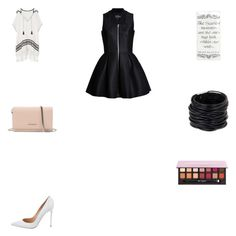 """""""Vá em frente, vá em frente, vá em frente agora"""" by smelyssa078 on Polyvore featuring Tory Burch, Gianvito Rossi, Givenchy, Saachi and Anastasia Beverly Hills"""