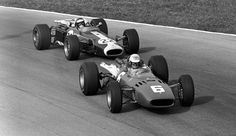Ludovico Scarfiotti e Jim Clark, 1966