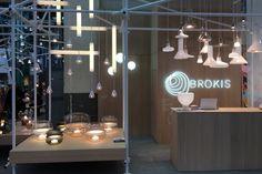 Brokis at neue räume! Come and see the newest collections in Zurich. 15 - 19 November 2017 ABB Eventhalle 550 Zurich Oerlikon, Switzerland  #neueraume #brokis #brokislighting