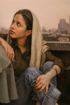 El mejor pintor de la época actual, Ayman al-Maliki part 1