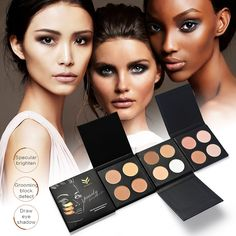 Cheap brightener, Buy Quality brightening concealer directly from China brightening powder Suppliers: Four-color Power Pressed Powder Matte Face Palette Long Lasting Press Powder Face Contour Concealer  Waterproof Brighten Natural