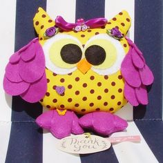 Hey, I found this really awesome Etsy listing at https://www.etsy.com/listing/237252952/ready-to-ship-handmade-felt-owl-stuffed