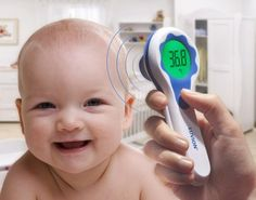 Infrarood thermometer voor je baby