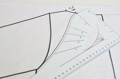 emma en mona: Teken zelf het patroon voor een raglanbloesje