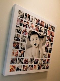 Фотоколлаж с малышом
