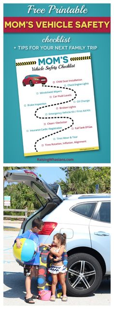 Family Road Trip Tips with Hercules Tires + FREE Vehicle Safety Checklist Printable - Raising Whasians (AD)