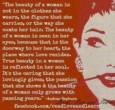 Beauty quote via www.Facebook.com/ReadLoveAndLearn