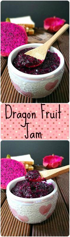 Beautiful looking Dragon Fruit Jam