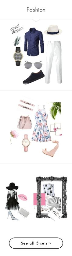"""""""Fashion"""" by merima022 ❤ liked on Polyvore featuring Neil Barrett, Yves Saint Laurent, Borsalino, Emporio Armani, men's fashion, menswear, Hollister Co., Armani Jeans, Charlotte Russe and Topshop"""