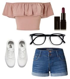 """""""Untitled #215"""" by brodriguez8104 ❤ liked on Polyvore featuring LE3NO, Miss Selfridge, Vans and Illamasqua"""