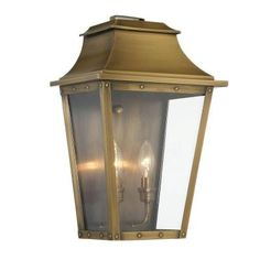 Livex lighting 1 light antique brass outdoor wall lantern with clear acclaim lighting coventry collection 2 light aged brass outdoor wall lantern 8424ab the aloadofball Choice Image