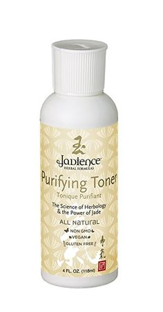 Jadience Pore Minimizer Purifying Facial Toner - 4oz | Natural Anti Aging Skin Care Product | Acne Face Wash & Skin pH Balancer with Adaptogens | Wrinkle Reducing Facial Cleanser | Non-Comedogenic