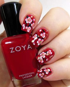 Chinese New Year Nail Art.