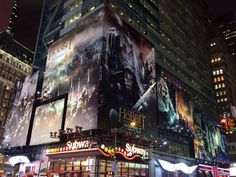 The Hobbit advertised in the USA !