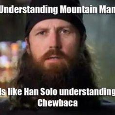 Understanding mountain men...
