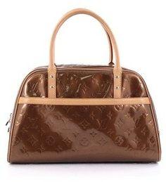 31887fe969e7 Louis Vuitton Pre-Owned  Tompkins Square Satchel Monogram Vernis