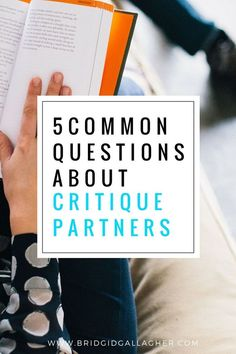 Critique Partners are an amazing asset to a writer at any stage, but they're the source of a lot of questions: Where do you find CPs? How do you find the right CP? Today I've put together the answers