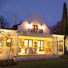 Book a special night for that special someone. The beautifully appointed welcomes guests to four luxurious bedrooms, a deluxe suite, a conservatory, a lounge, with swimming and spa pool area. South African Wine, Luxury Accommodation, Luxurious Bedrooms, Conservatory, Wine Country, Provence, Acre, Spa, Lounge