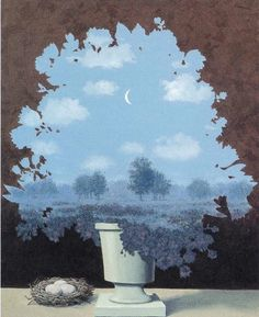 """Rene Magritte ~ """"The Land of Miracles"""", 1964"""