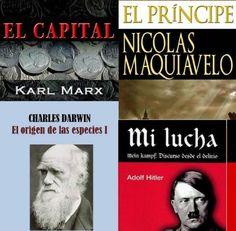 éVarios ejemplos de los ensayos famosos, polémicos e influyentes de todos los tiempos: El Príncipe de Maquiavelo, Mi lucha de Hitler, El capital de Marx