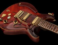 Athena Kekenes Steampunk guitar