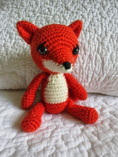 Virkaten: Virkattu kettu repolainen Teddy Bear, Toys, Animals, Activity Toys, Animales, Animaux, Clearance Toys, Teddy Bears, Animal