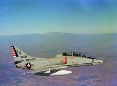Douglas A-4 Skyhawk 60th Anniversary. Douglas TA-4F Skyhawk of US Marine Corps Headquarters and Maintenance Squadron 13 (H&MS-13).