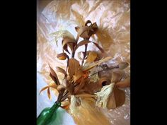 O Artesanato Com Palha De Milho Transformando O Que Iria Para O Lixo Em Lindas Flores - YouTube