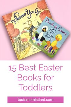 15 Best Easter Books for Toddlers | best picture books for a toddler's Easter basket. Bunny books for Easter, board books for Easter, one year olds, two year olds, three year olds, four year olds. Three Year Olds, One Year Old, Toddler Books, Childrens Books, Easter Ideas, Easter Crafts, Two Years Old Activities, Easter Baskets For Toddlers, Bunny Book