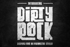 Dirty Rock Typeface - Free Font of The Week was our Free Premium Font Of The Week. Our Free Font Of The Week is available each week exclusively from Font Bundles. Grab your free fonts for a limited time only Font Design, Web Design, Graphic Design, Design Art, Badge Design, Design Ideas, Display Font, Font Maker, Handwritten Quotes