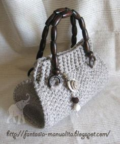 pattern  for crochet bag - modello @ Afshan Shahid
