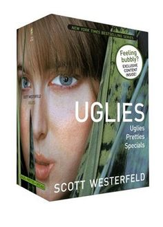 I remember I loved these so much when I first read them.  Very similar in style/theme actually to The Hunger Games  ~  Uglies series by Scott Westerfeld