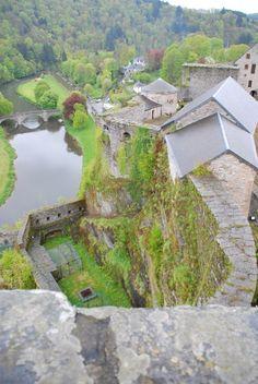 Castle of Bouillon, Belgium and the Semois river