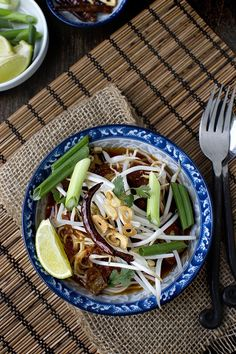 Spicy Thai Curried Noodles