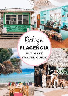 Travel Guide to Placencia, Belize Belize Vacations, Belize Resorts, Belize Travel, Dream Vacations, Beach Vacations, Honduras, Costa Rica, Cozumel, Tostadas