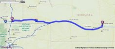Driving Directions from Grand Island, Nebraska to Cheyenne, Wyoming | MapQuest