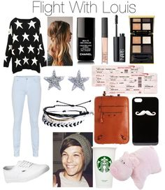 """""""Flight With Louis"""" by taylorpayne4ever ❤ liked on Polyvore"""