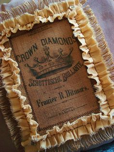 Crown Diamonds pillow   Flickr - Photo Sharing!